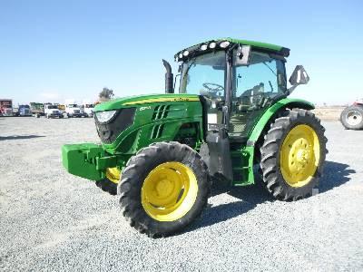 2012 JOHN DEERE 6125R MFWD Tractor
