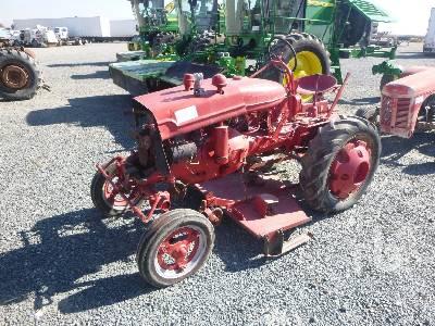 FARMALL 2WD Antique Tractor