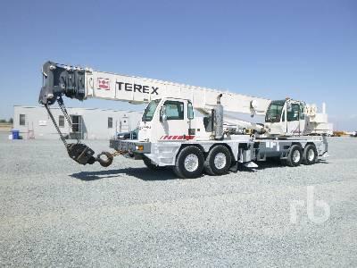 2010 TEREX T780 80 Ton 8x4x4 Hydraulic Truck Crane