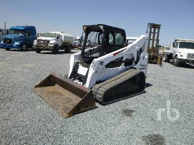 2012 BOBCAT T750 2 Spd High Flow Compact Track Loader