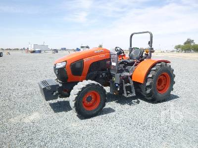 2017 KUBOTA M6L111 MFWD Tractor