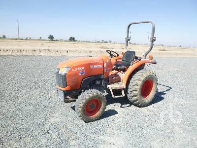 2016 KUBOTA L2501 MFWD Utility Tractor