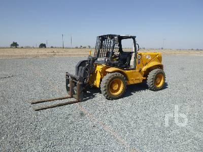 2006 JCB 520-50 4400 Lb 4x4x4 Telescopic Forklift