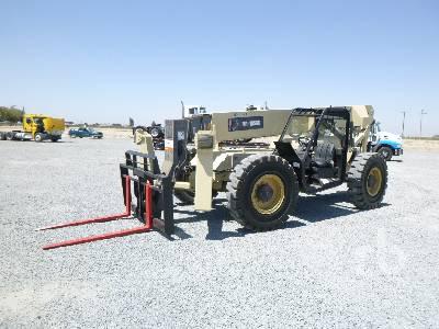 2003 INGERSOLL-RAND VR1056C 10000 Lb 4x4x4 Telescopic Forklift