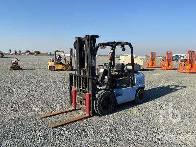 2011 Hyster UT30P 5700 lb Pneumatic Tire Forklift