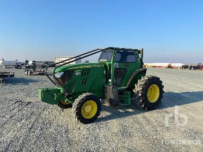 2014 John Deere 6115M 4WD Tractor