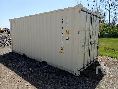 2020 20GP DD 20 Ft One Way Container