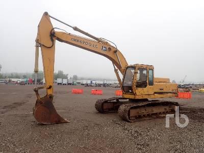 1990 JOHN DEERE 690D LC Hydraulic Excavator