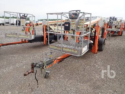 2013 JLG T350 Electric Tow Behind Articulated Boom Lift