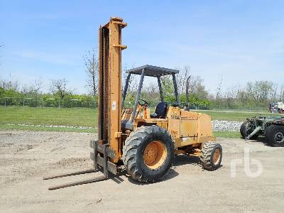1996 CASE 585E 4x4 Rough Terrain Forklift