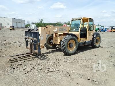 GEHL DL8L 8000 Lb 4x4x4 Telescopic Forklift
