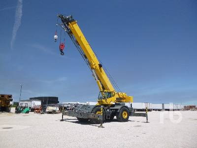 2001 GROVE RT760E Rough Terrain Crane
