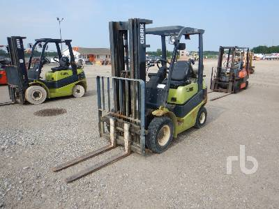 2008 CLARK C25L 4200 Lb Forklift