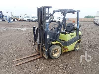 2006 CLARK C25L 4800 Lb Forklift