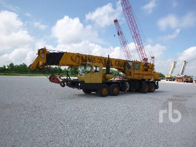 1977 GROVE TMS475 50 Ton T/A T/A Hydraulic Truck Crane