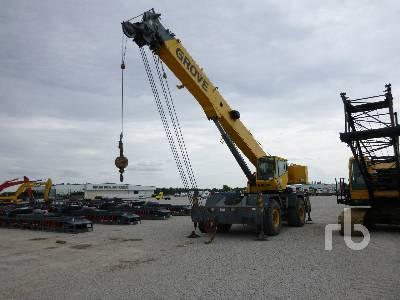 2005 GROVE RT600E 50 Ton 4x4x4 Rough Terrain Crane