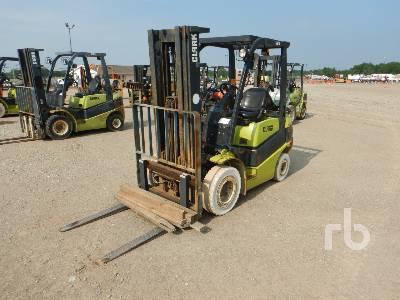 2012 CLARK C25L 4600 Lb Forklift
