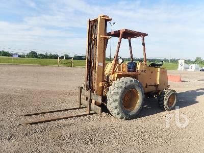1990 CASE 586E 6000 Lb 4x4 Rough Terrain Forklift