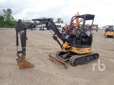 2015 JOHN DEERE 27D Mini Excavator (1 - 4.9 Tons)