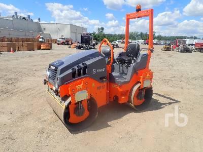 2021 HAMM HD12VV Tandem Vibratory Roller