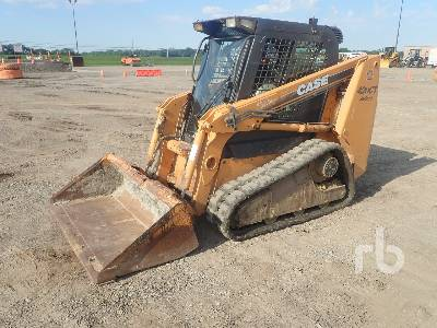 2008 CASE 420CT Compact Track Loader