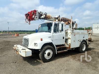 2002 FREIGHTLINER FL80 S/A w/Altec D845A Digger Derrick Truck