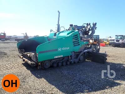 2017 VOEGELE SUPER 1700-3I Crawler Asphalt Paver