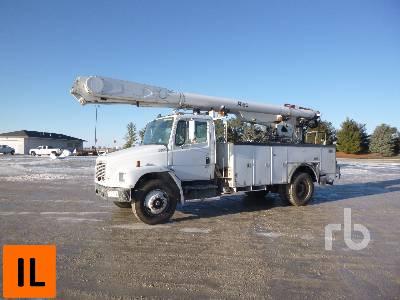 2000 FREIGHTLINER S/A w/Altec AM855 Bucket Truck