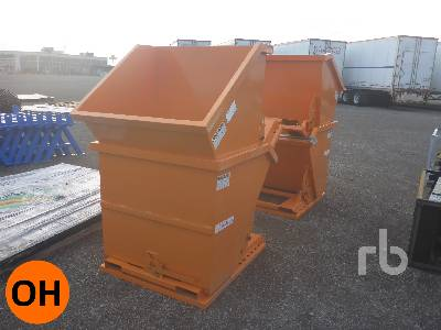 Unused Qty Of Suihe Dumping Hoppers Container Equipment - Other