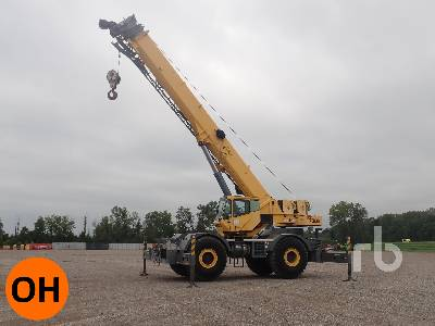 2007 GROVE RT700E 60 Ton Rough Terrain Crane