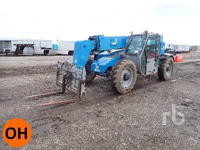 2014 GENIE GTH844 8000 Lb Telescopic Forklift