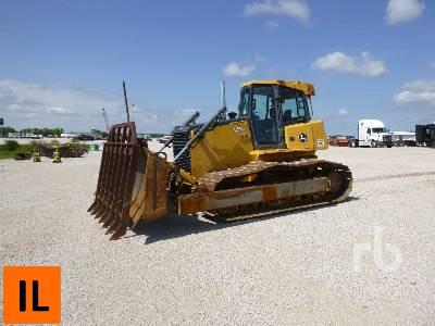 2007 JOHN DEERE 850J LGP Crawler Tractor