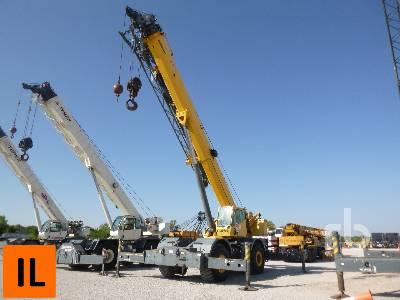 2008 GROVE RT880E 80 Ton 4x4x4 Rough Terrain Crane