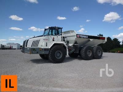 2012 TEREX TA400 6x6 Articulated Dump Truck