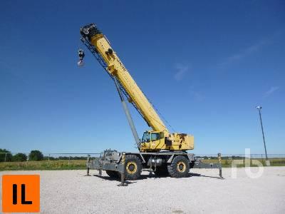 2006 GROVE RT9130E 130 Ton 4x4x4 Rough Terrain Crane