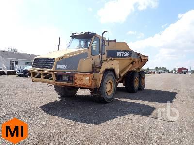 1999 MOXY MT36 6x4 Articulated Dump Truck