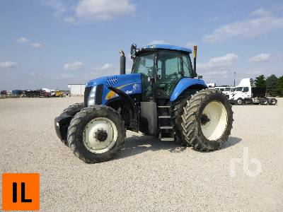 2006 NEW HOLLAND TG215 MFWD Tractor