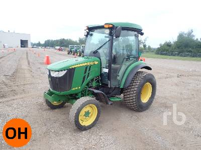 2014 JOHN DEERE 4066R 2WD Utility Tractor
