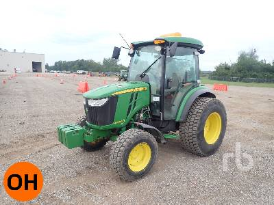 2014 JOHN DEERE 4044R 2WD Utility Tractor