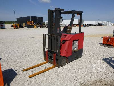 2011 RAYMOND 425-C35TT 3500 Lb Stand Up Electric Forklift