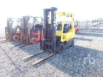 2015 HYSTER S60FT 5700 Lb Forklift