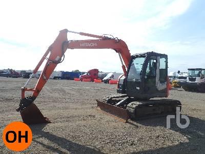2010 HITACHI ZX75 US-3 Midi Excavator (5 - 9.9 Tons)