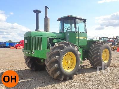 1980 JOHN DEERE 8640H 4WD Tractor