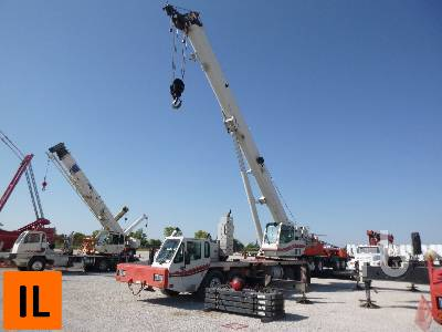 2011 LINK-BELT HTC8675 75 Ton T/A T/A Hydraulic Truck Crane