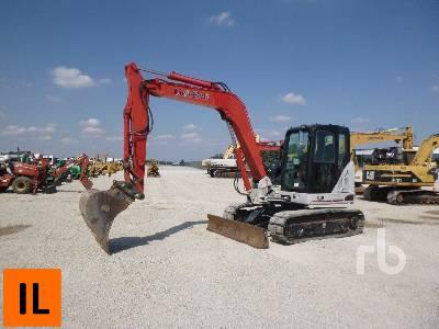 2014 LINK-BELT 80X3 Midi Excavator (5 - 9.9 Tons)