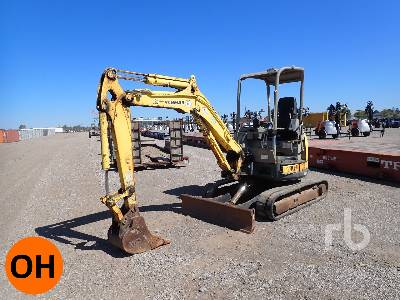 2008 YANMAR VIO35-5B Mini Excavator (1 - 4.9 Tons)