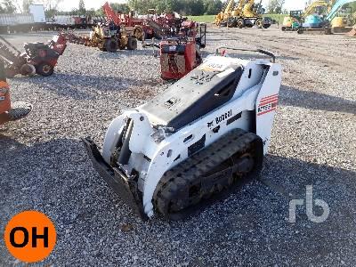 2013 BOBCAT MT55 Walk Behind Compact Track Loader