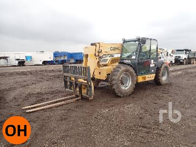 GEHL DL1240H 12000 Lb 4x4x4 Telescopic Forklift