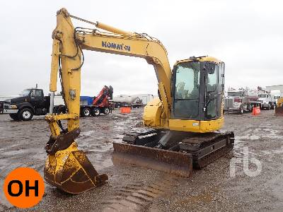 2011 KOMATSU PC78US-8 Midi Excavator (5 - 9.9 Tons)
