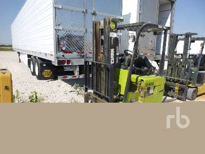 2016 CLARK TMX15S 2500 Lb Ride On Electric Forklift